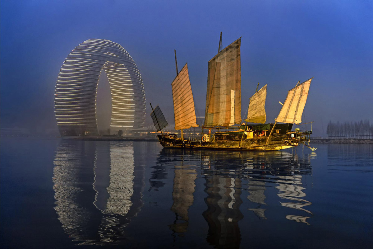 Отель Starwood Sheraton Huzhou Hot Spring Resort в Хучжоу, Китай
